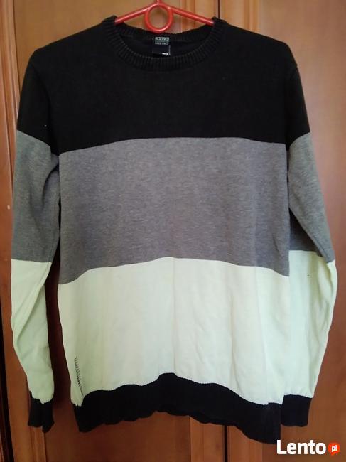 męski sweterek cienki długi rękaw