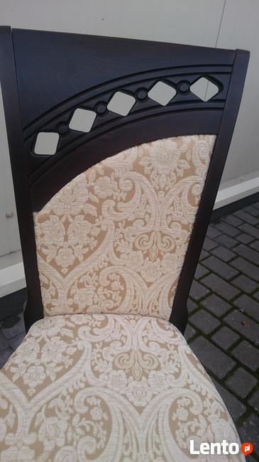 Krzesło tapicerowane stylowe modne do salonu producent