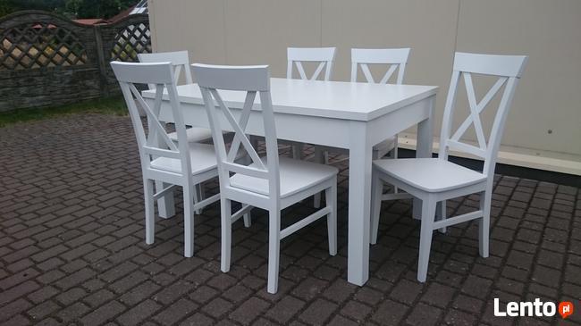Krzesło prowansalskie skandynawskie krzyżak do restauracji