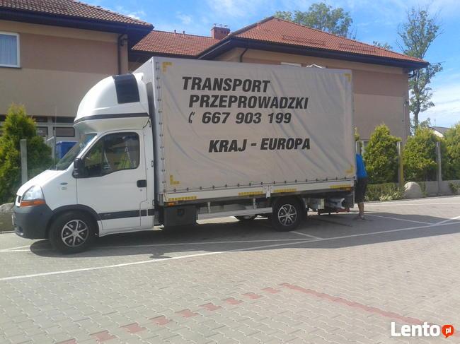 TRANSPORT BAGAŻOWY PRZEPROWADZKI+ EKIPA 667-903-199