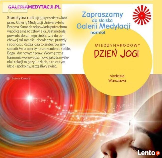 Galeria Medytacji na Dniu Jogi