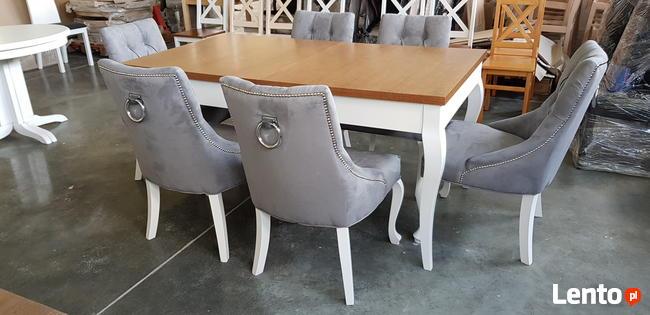 Krzesło pikowane z kołatką i z pinezkami mocne Nowe GLAMOUR
