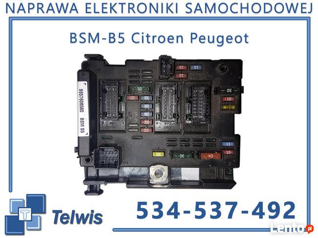 Naprawa modułów BSM Citroen, Peugeot