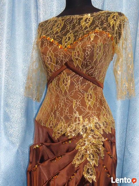 Suknia ślubna wieczorowa balowa. Nowa. Rozmiar 38-40