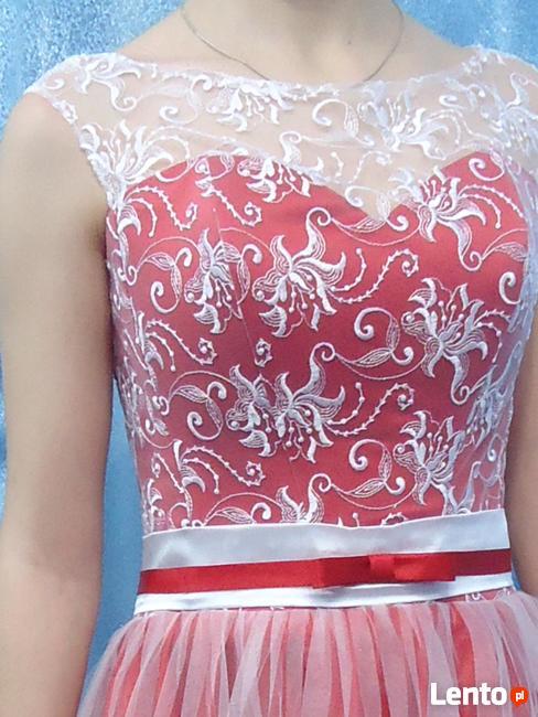Suknia ślubna wieczorowa balowa. Nowa. Rozmiar 36-38