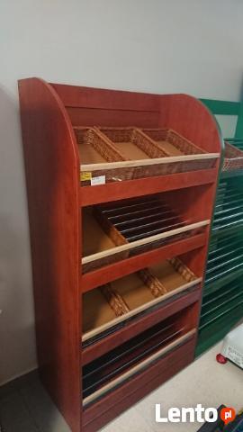 Regał piekarniczy regały piekarnicze meble sklepowe na piecz