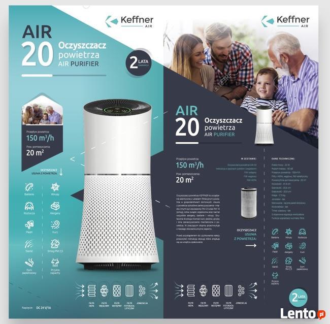 Oczyszczacze powietrza Keffner Air20/Air35/Air42/Air 60