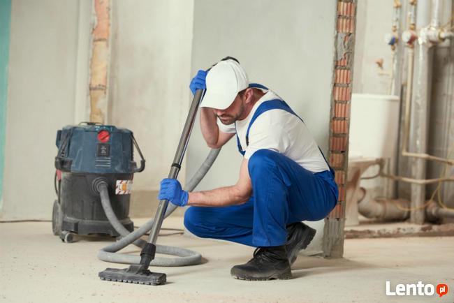 Sprzątanie po remoncie, sprzątanie po budowie tanio i szybko