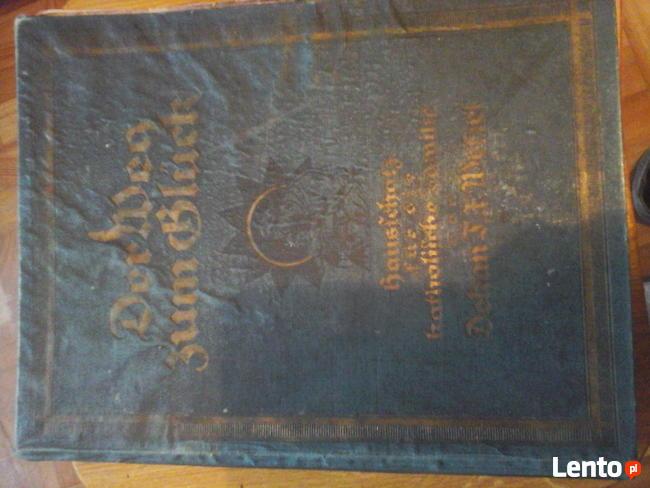 Książka Der Weg Zum Gluck (Droga do szczęścia) z 1922r