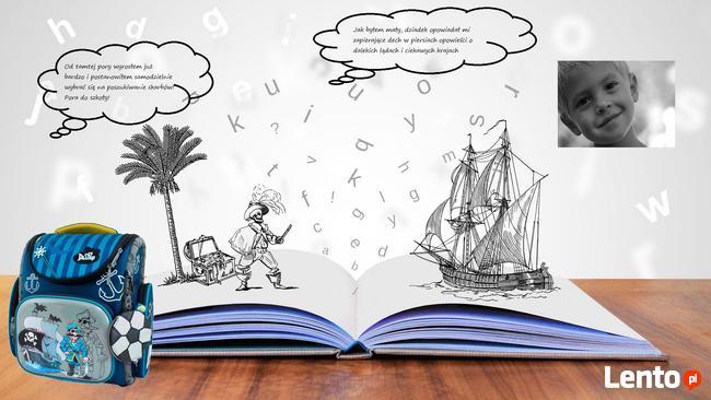 Tornister dla chłopca -pirat