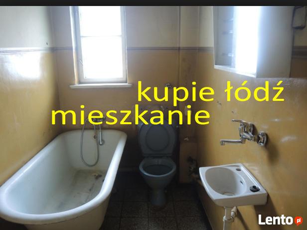 Kupię mieszkanie w Łodzi - blok lub kamienica