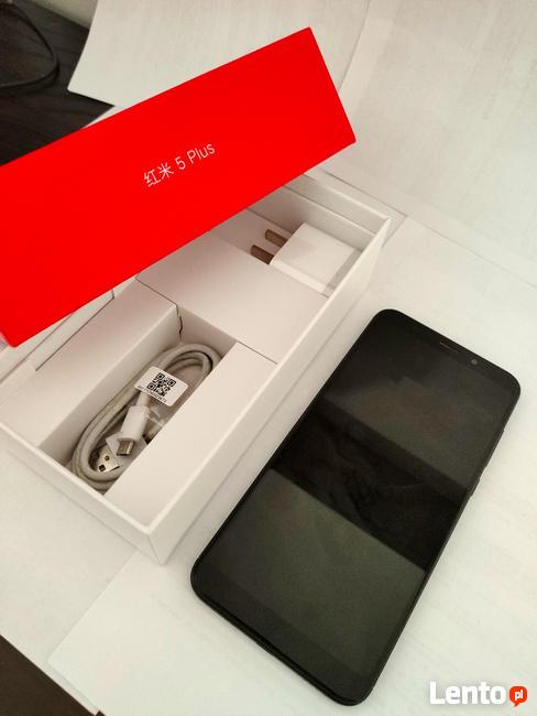 Xiaomi Redmi 5 Plus 4/64GB Dual Sim Czarny