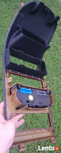 Panel konsola klimatronik od OPEL ASTRA G nadruk drewno
