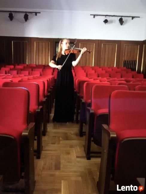 Nauka, pomoc w grze na skrzypcach