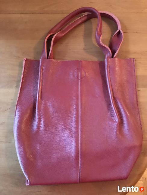 Sprzedam duza skorzana torbe