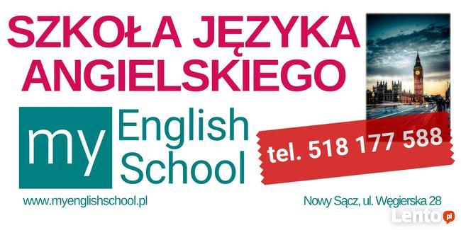 Angielski dla dzieci i młodzieży w Nowym Sączu.