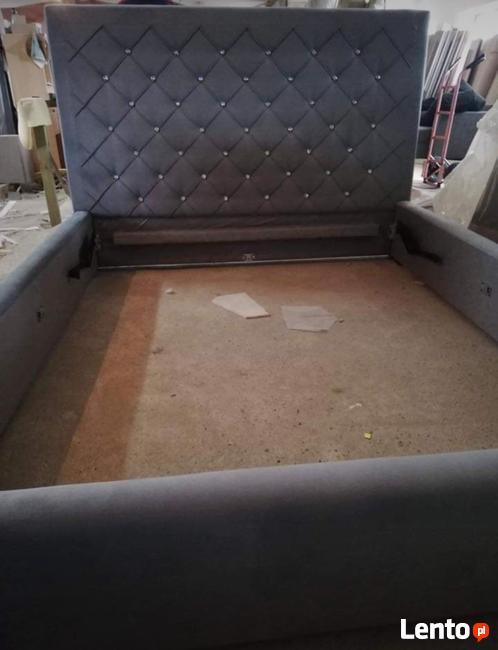 Piękne Nowe Łóżka tapicerowane pod klienta GRAMA MEBLE
