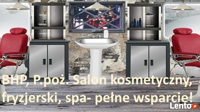 BHP salon kosmetyczny, fryzjerski, spa - pełne wsparcie!