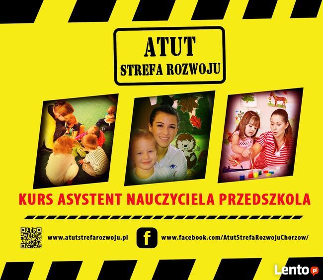 asystent nauczyciela przedszkola - kurs w ATUT Chorzów - MEN