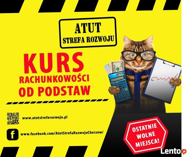 rachunkowość od podstaw - kurs w ATUT Chorzów - zaśw. MEN