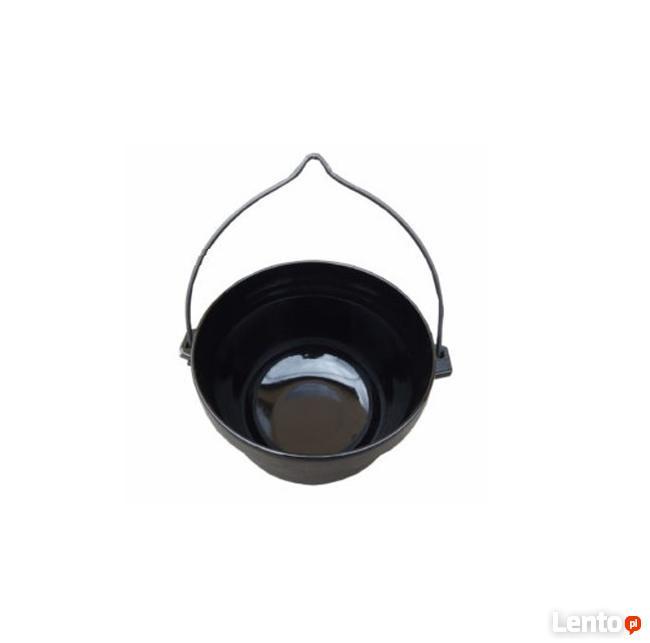 Kociołek żeliwny 10 litrów / emaliowany Okazja Keffner pl