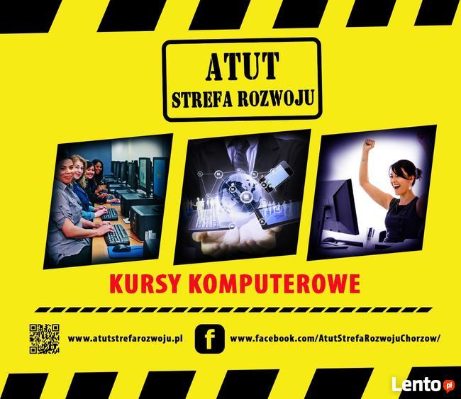 kurs Corel Draw w ATUT Chorzów - zaświadczenie MEN