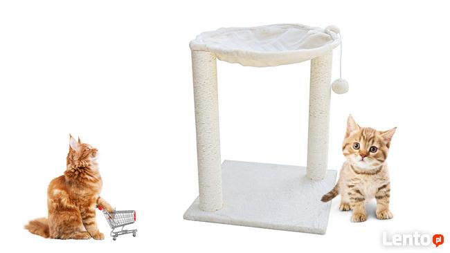 Drapak dla kota hamak z legowiskiem