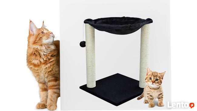 Drapak dla kota typu hamak z legowiskiem