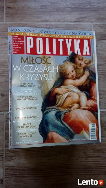 Tygodnik Polityka rocznik 2008