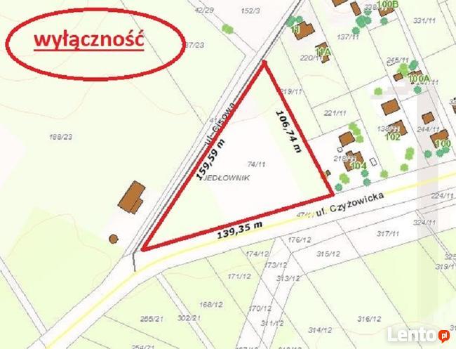 Duża działka usługowa - ul. Czyżowicka