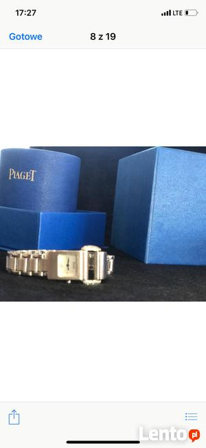 Zegarek Piaget Protocole Gold Diamond