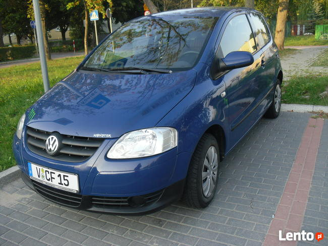 VW Fox 2006 -1,2 fajny lisek