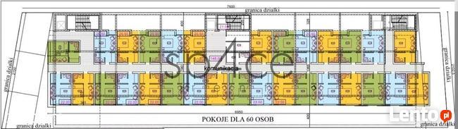 działka z PnB pod Mikro HOTEL - Okecie Warszawa