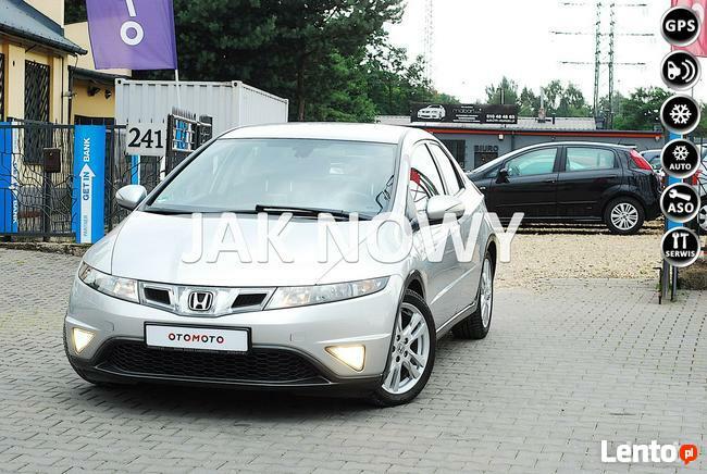Honda Civic 1.8 V-TEC SPORT*Lift* 140KM*Navi GPS* Alu Felgi* Klima *Full*Z Niemiec