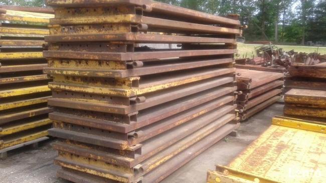 Szalunki do wykopów KRINGS KVL 3x0,95m nadstawki 12 sztuk