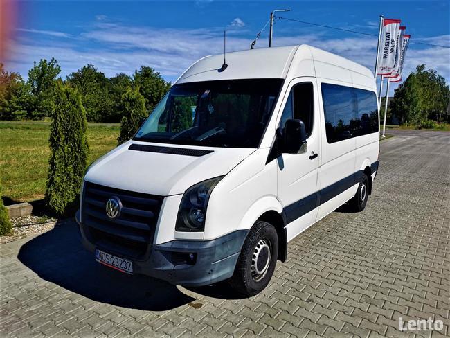 Bus VW Crafter 2.5 TDI 163KM *Salon Polska* *9 osób*