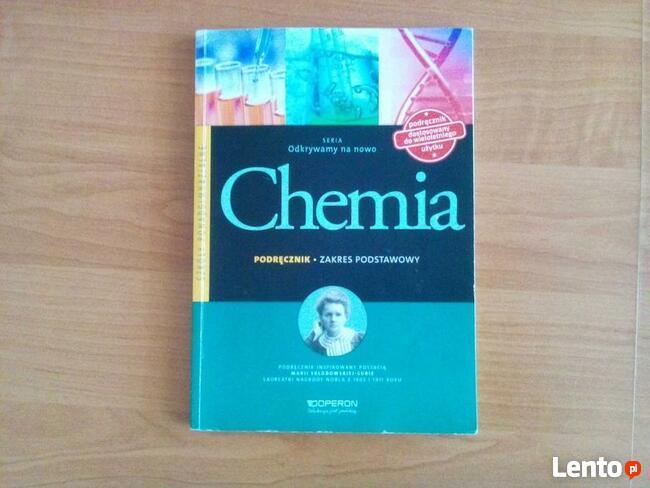 Podręczniki do szkół średnich (chemia, bilogia, WOS)