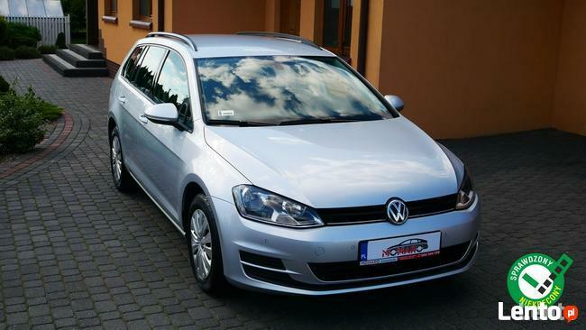 Volkswagen Golf Variant 1.6 TDI Salon Polska Serwis ASO Bezwypadkowy