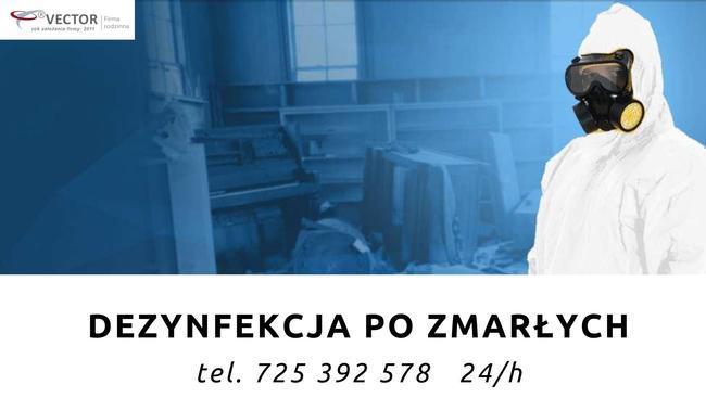 Vector Kraków- Sprzątanie po zgonie 725 392 578