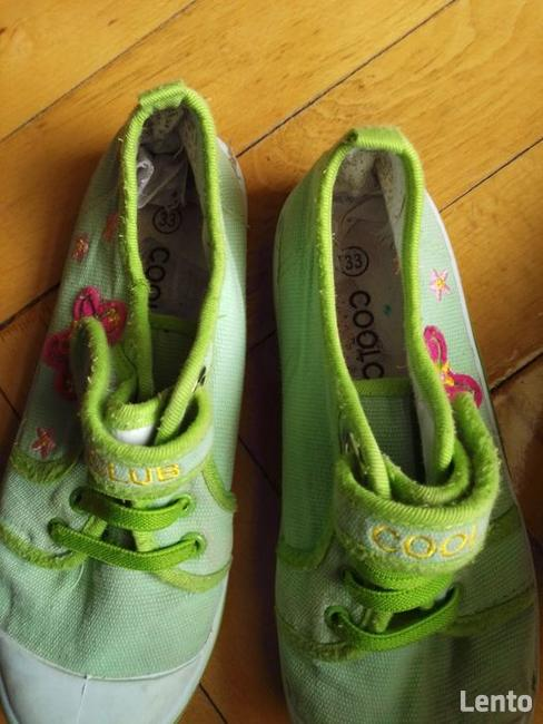 Trampki obuwie tekstylne