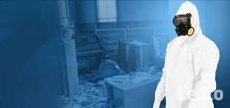 Sprzątanie po wybiciu kanalizacji czyszczenie dezynfekcja