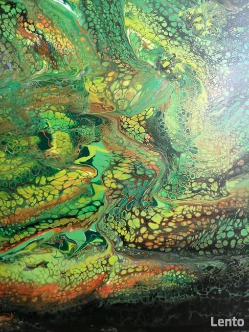 Piękny nowoczesny obraz abstrakcja oryginalny prezent