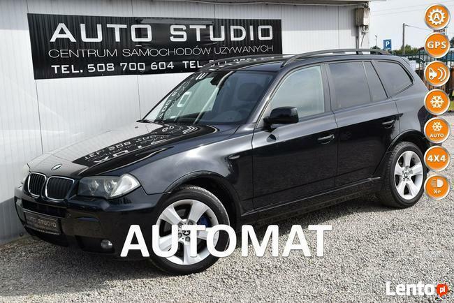 BMW X3 M-pakiet/Automat/Pół-Skóra/Nawigacja/Parktronic
