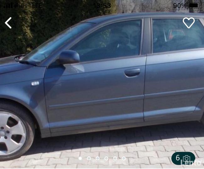 Sprzedam Audi A3 8P Sportback 1.9 tdi bls lx7z na części