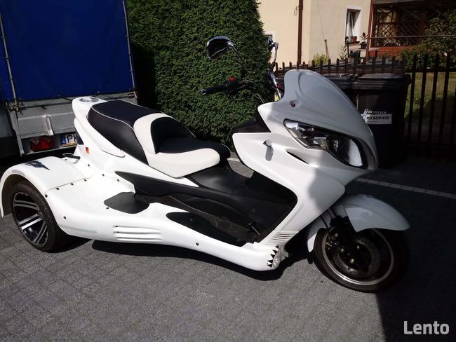 motocykl trójkołowiec
