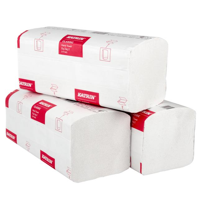 # Okazja # 100 % Celuloza # Ręczniki papierowe ZZ białe #