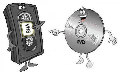 Przegrywanie kaset wideo na płyty DVD