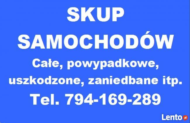 SKUP AUT - SAMOCHODÓW Poznań tel. 794-169-289