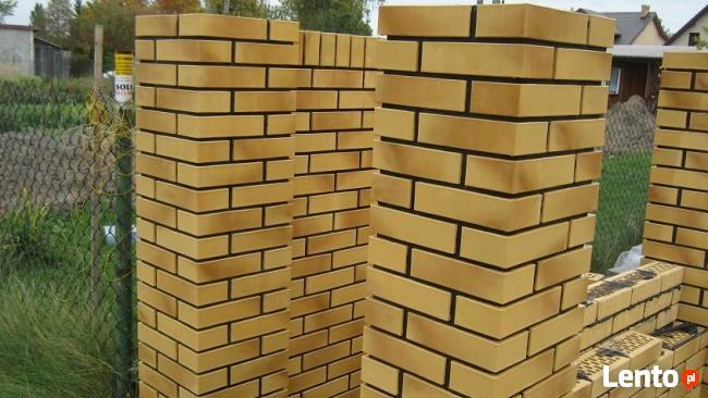 murowanie ogrodzeń z klinkieru
