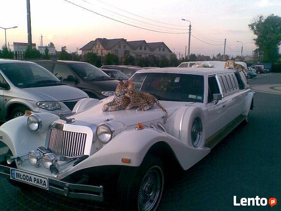 Samochody na ślub, limuzyny ślubne,chrysler pt cruiser limo.